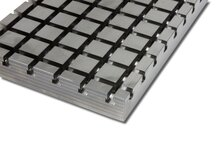 Stahl Kreuznutenplatte 10050 X-Block