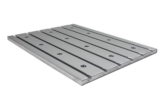 Cast aluminum T-slot plate 10060 Tiny