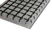 Stahl Kreuznutenplatte 10060 X-Block