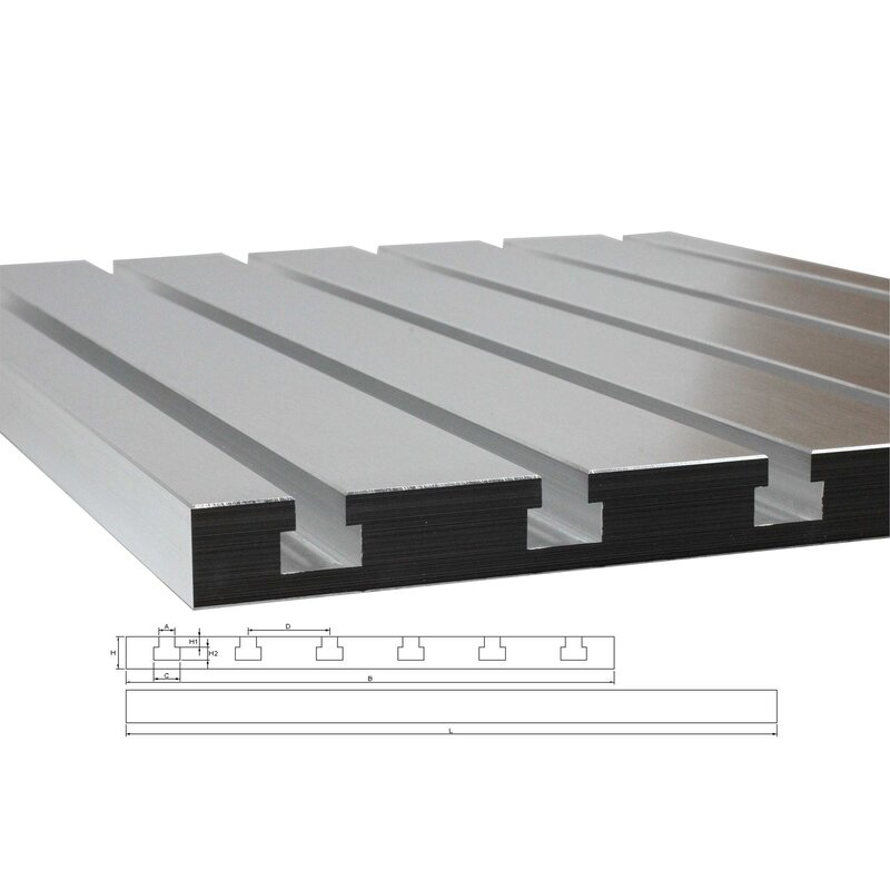 T-slot plate 5020