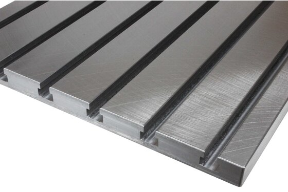 Steel T-slot plate 5030 (finely milled)