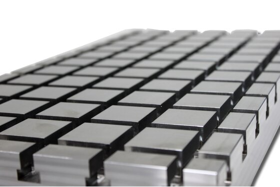 Steel cross slot plate 6050 X-Block