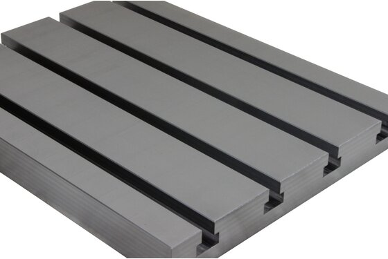 Steel T-slot plate 8040 Big Block
