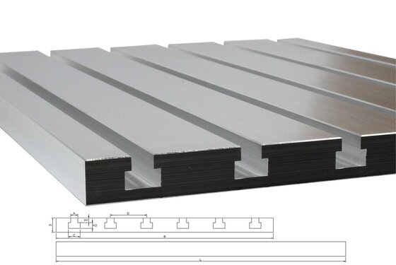 T-slot plate 8050