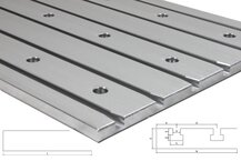 Cast aluminum T-slot plate 8050 Tiny